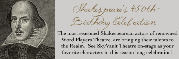 Shakespeare's 450th!