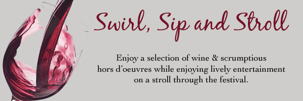 Swirl, Sip and Stroll